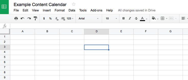how to build a editorial marketing calendar