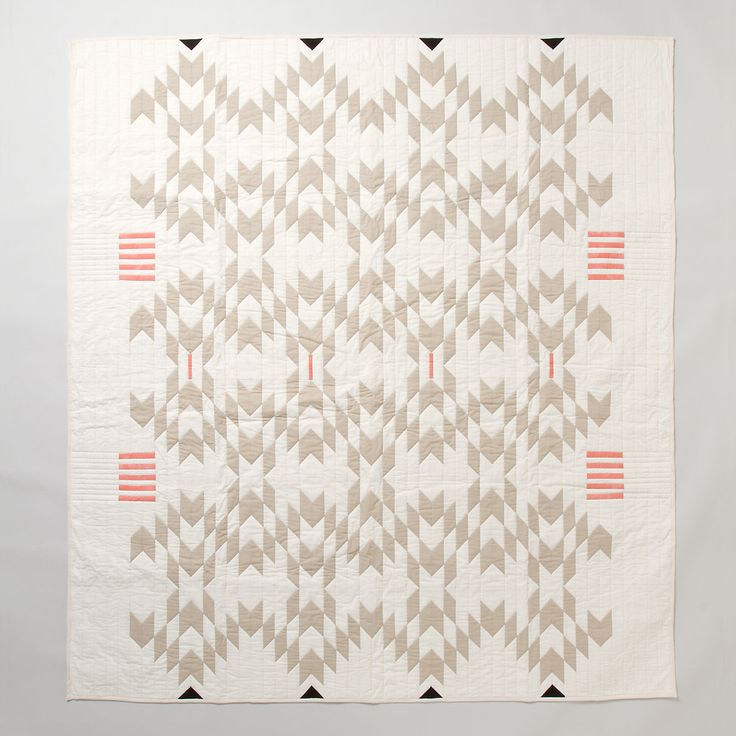 Meg Callahan Flax Quilt in House+Home FURNITURE Terrain Collective at Terrain