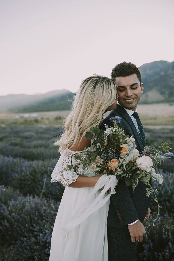 Utah Wedding Photographer, Bridals, Lavender Fields, Summer Taylor Photography