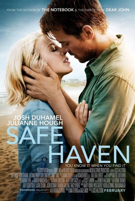 Safe Haven... Nicholas Sparks is a genius !