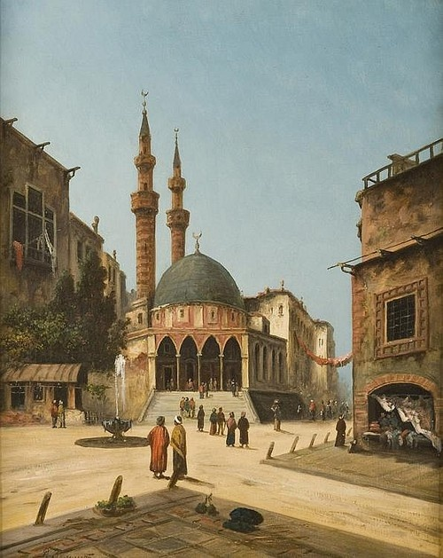 Mosque in Istanbul - Richard Zommer