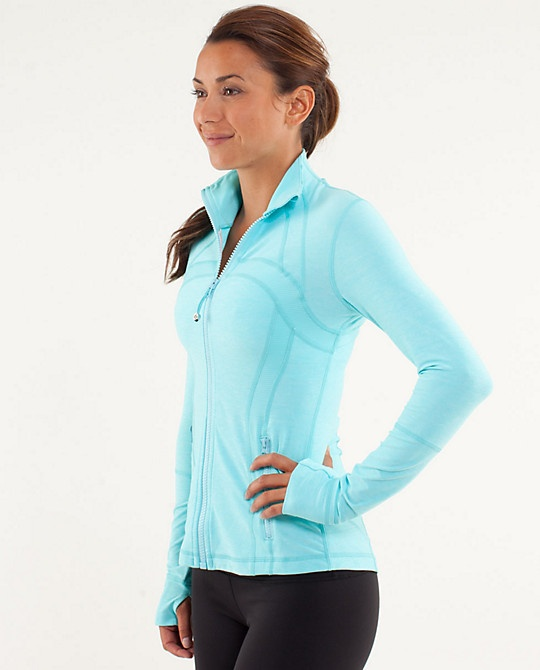 Define Jacket - Lululemon $99 or any lululemon jacket, in a fun color. preferably just a solid color no stripes.