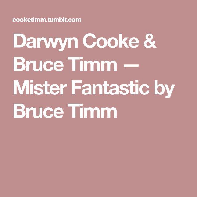 Darwyn Cooke & Bruce Timm — Mister Fantastic by Bruce Timm