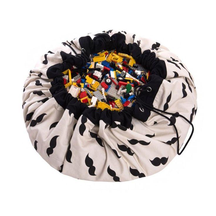 Amazon | Tutent お片付けマット 玩具/レゴ/ブロックのお片づけ おもちゃ収納袋&プレイマット 直径140cm 綿(口ひげ) : Tutent | ベビージム・プレイマット オンライン通販