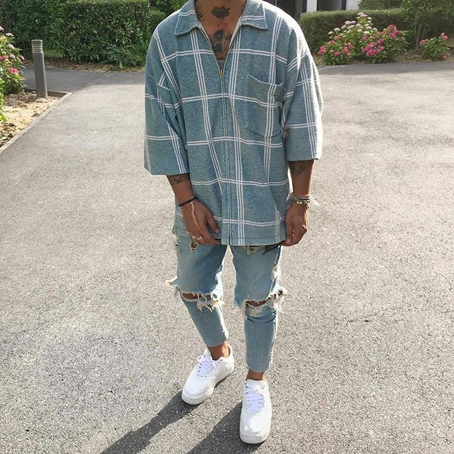 Style by @nasithhh Yes or no? Follow men fashion…..