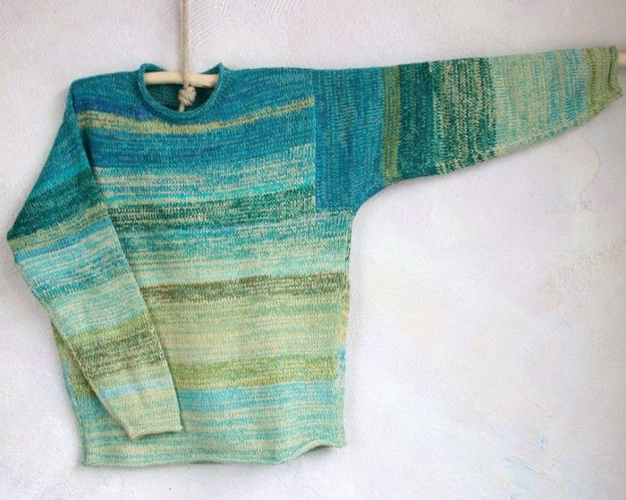 Wrapture by Inese- Tide Pool Sweater