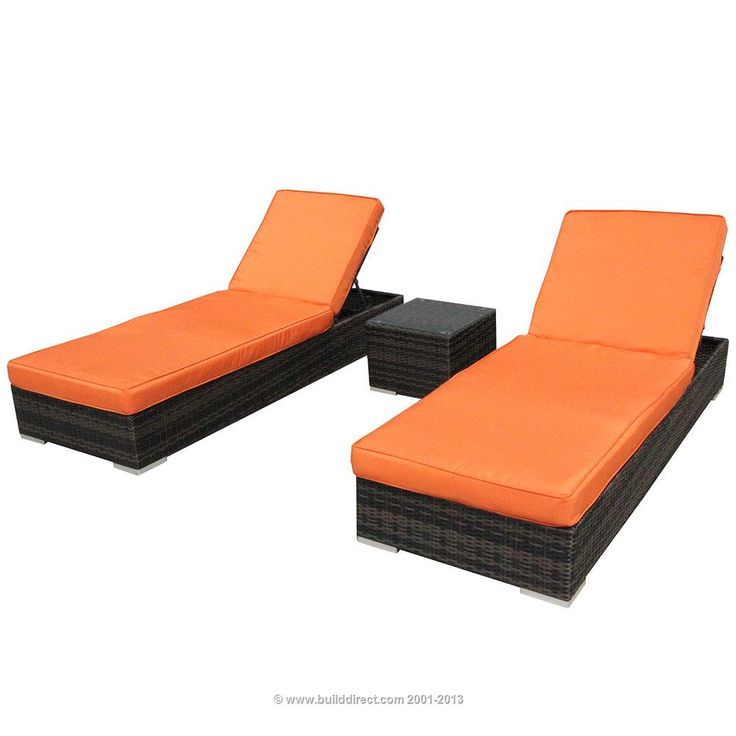 builddirect patio furniture patio furniture dominica collection 3 piece chaise lounge set