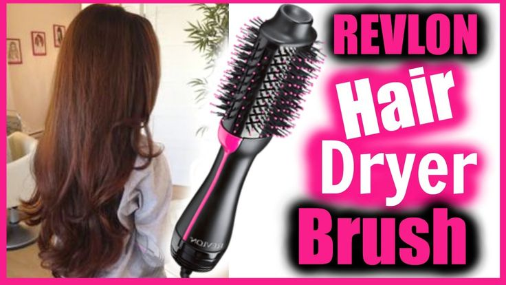 Revlon Hair Dryer Brush Tutorial + Review │ One-Step Hair Dryer and volumizer long hair blow dryer how to dry long layered hair with a blow dryer brush