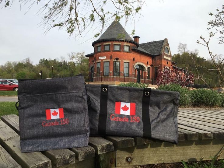 Large utility tote and picnic thermal.