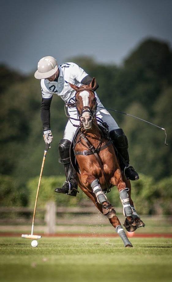 Think Polo is an easy sport? HA, think again.
