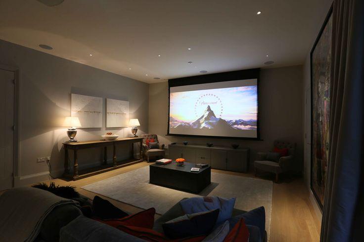 TV and games room lighting by John Cullen Lighting