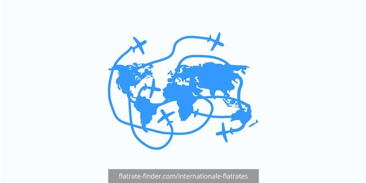 Flatrates im Ausland und für das Ausland. | Im Ausland unterwegs? Flatrates mitnehmen oder flexibel dazu buchen. Internationale Flatrates sind geniale Sorglos-Tarife in Europa bis weltweit.