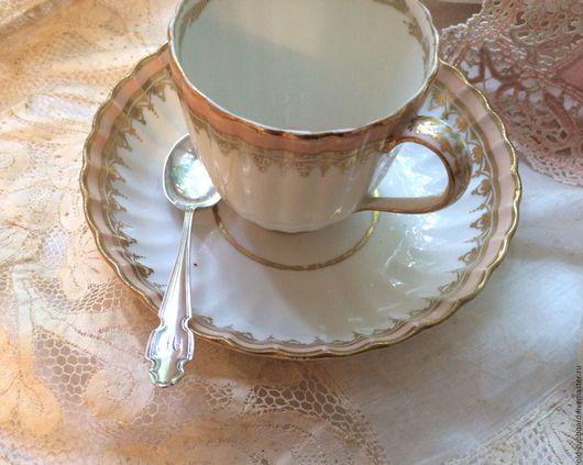 Винтажная посуда. Ярмарка Мастеров - ручная работа. Купить Серебряная английская кофейная ложечка с монограммой М. 1919 г. Handmade.