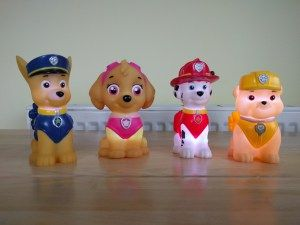 Paw Patrol Ilumi-Mates  L loves Paw Patrol. If allowed he watch it from the moment he wakes to the moment he fell asleep. He often enjoys running around the house pretending to be on various rescue missions with the pups its all very cute.  Paw Patrol Illumi-Mates When he was offered the chance to review some of the colour change Paw Patrol Illumi-Mates from Spearmark I just had to say yes. It was clear he would just adore them.  We were sent a lovely little package that included Skye Rubble…