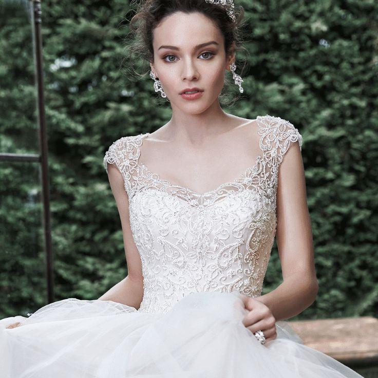 29 best Maggie Sottero Wedding Dresses images on Pinterest | Short ...