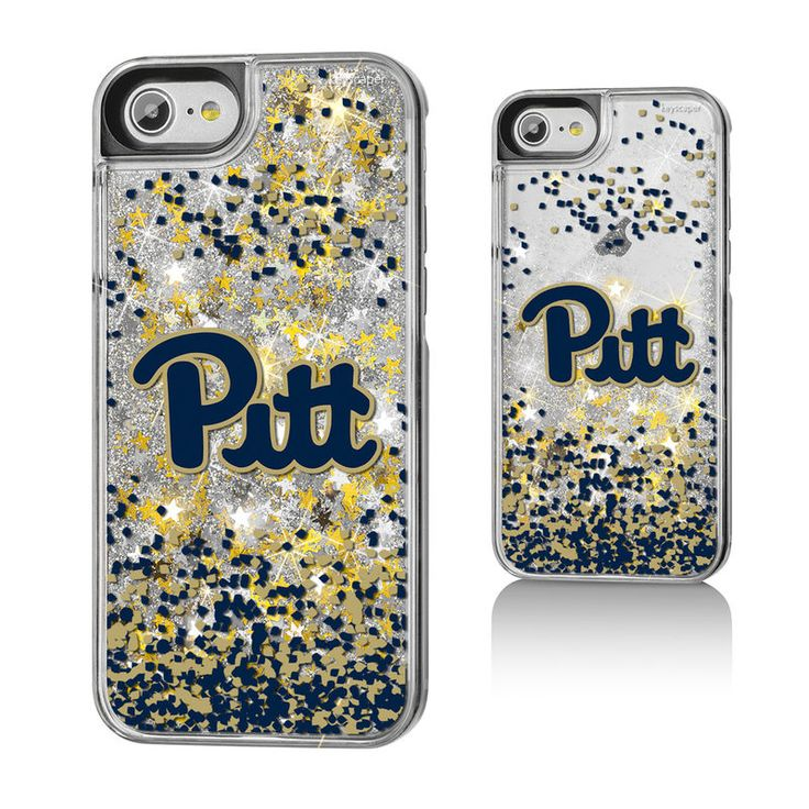 Pitt Panthers Gold Glitter iPhone 7 Case