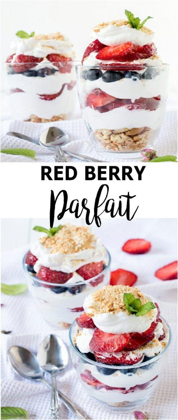 how to make fruit and yogurt parfait
