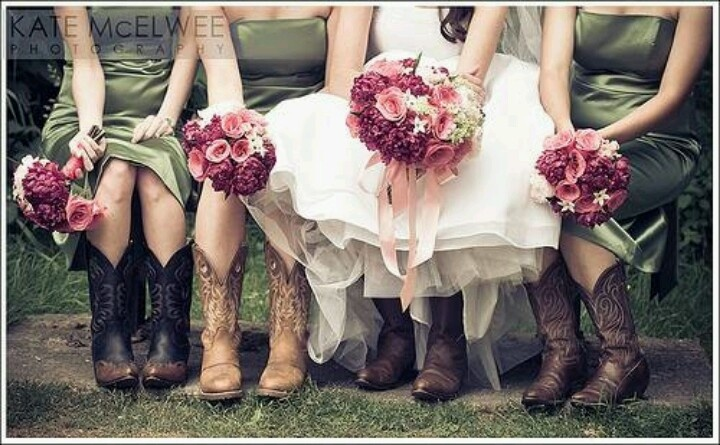 Country wedding.