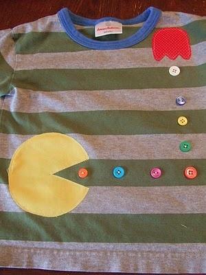 Super cute Pac man shirt for the boys!