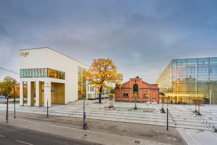 Kungliga Musikhögskolan, Stockholm. Färdig 2016. Fotograf: Jean Baptiste Béranger