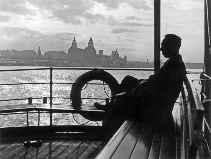 Mersey ferry, 1954 © Bert Hardy