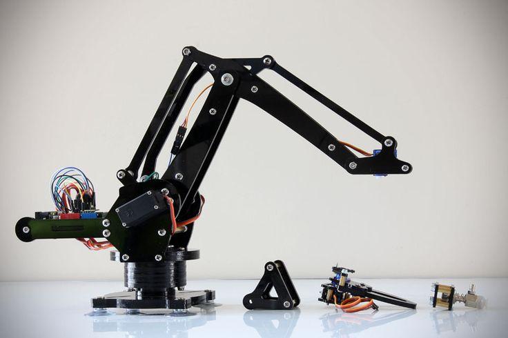 uArm Miniature Industrial Robot Arm Kit