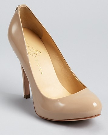 ivanka trump patent pumps in taupe