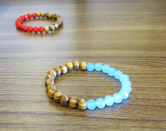 Hey, I found this really awesome Etsy listing at https://www.etsy.com/listing/191186506/stretchy-beaded-bracelet-woodenglass
