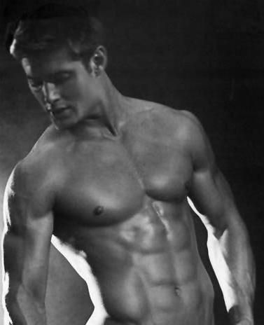 My dream man, Jenson Ackles!  This has nothing to do with me getting sexy, but he makes me drool and I had to post it.