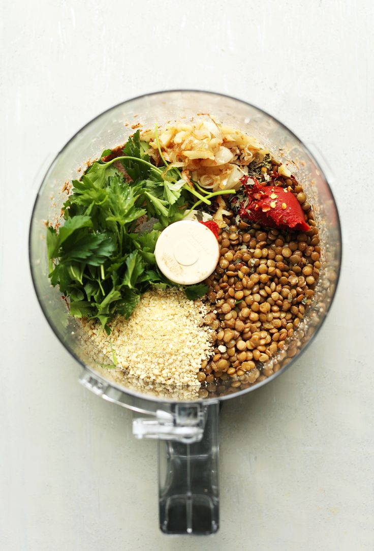 Easy Lentil Meatballs (Vegan + GF) - Minimalist Baker