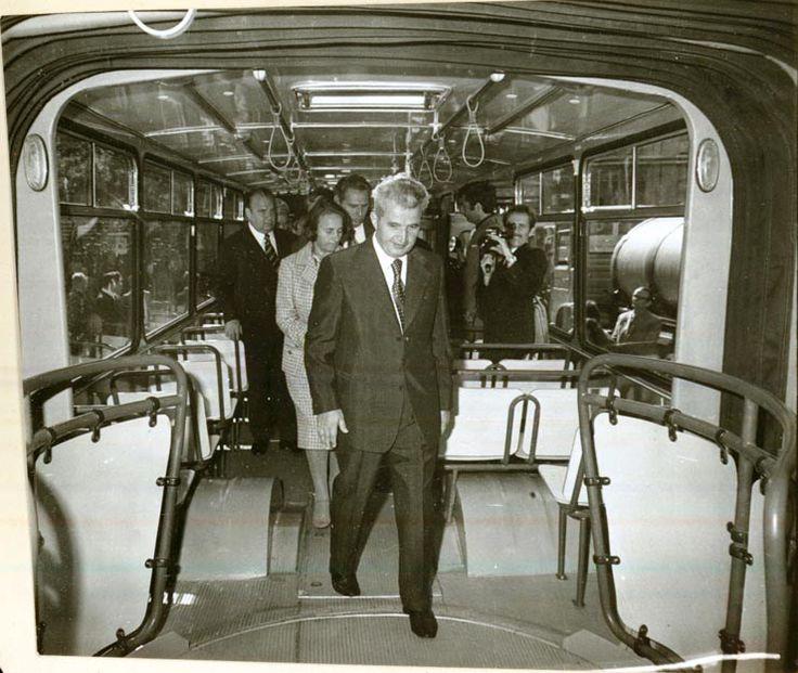 FOTO: Vizitele lui Ceaușescu la Brașov