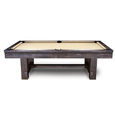 Reno Rustic Antique Walnut Pool Table -