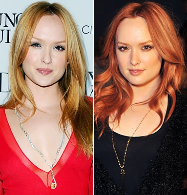 Love that red on Kaylee DeFer!