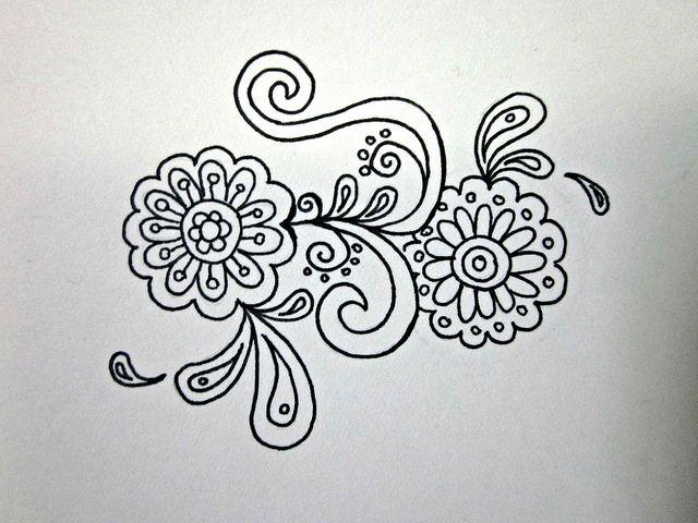 Henna Design II by puellaaeterna, via Flickr