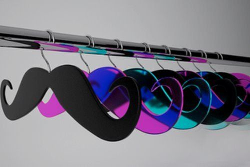Cool new hangers! Makes hanging spaghetti straps and things nice because they won't fall off! :o)