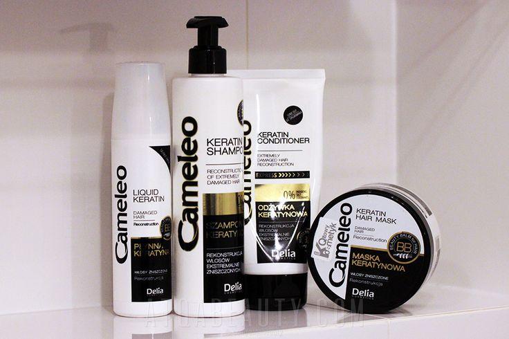 Delia Cosmetics Cameleo Rekkonstrukcja włosów ekstremalnie zniszczonych