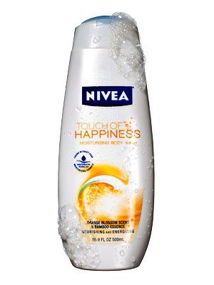 Nivea Touch of Happiness Moisturizing Body Wash in Orange Blossom - InStyle Best Beauty Buys 2010 Winner #instylebbb