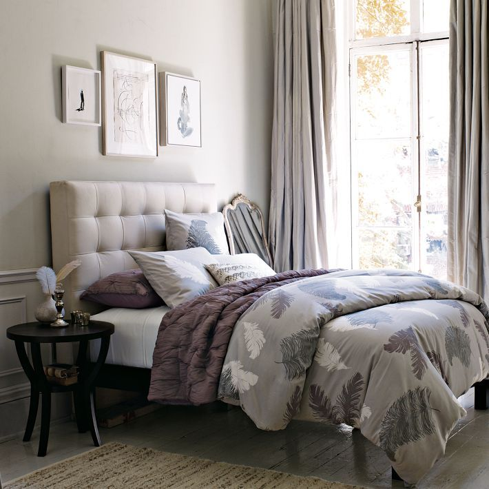 Grid Tufted Headboard from West Elm. 30 best West Elm Bedroom images on Pinterest   West elm bedroom