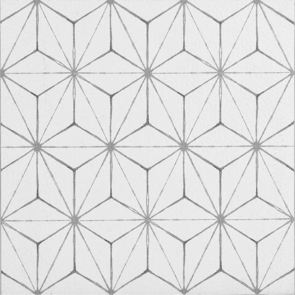 Brewster Set Of 20 Kikko Peel Stick Floor Tiles Clear In 2020