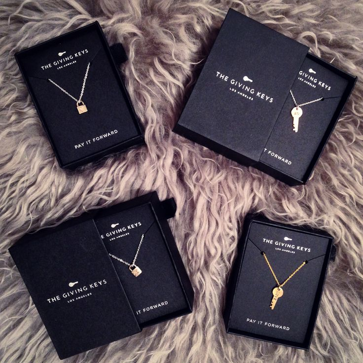 Available @RoweBoutique | The Giving Keys Petite Necklaces