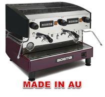 Boema Deluxe D-2V15A 2-Group Volumetric Coffee Machine http://www.hoskit.com.au/Kitchen-Equipment/Coffee-Machine/