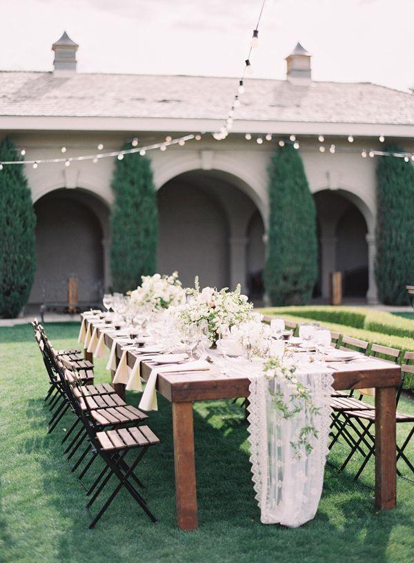 Elegant White Utah Wedding