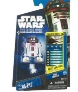 Star Wars Clone Wars 2010 Series 05 - CW30 R4-P17 by Hasbro. $9.88. just like R-2 D-2 except this one was rejected in the movie. Robot with electronic lights and sound