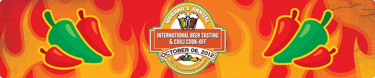 Urbana's International Beer Tasting & Chili Cook Off! There is no better way to bring in fall than with a nice, chilled beer and a warming bowl of delicious chili. We offer over 150 different specialty & import beers, the best variety of professional and amateur chili, and a competition (with cash prizes) to decide the best. Trust us; you won't leave hungry, thirsty or disappointed.
