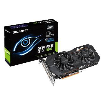 Carte graphique Gigabyte GeForce GTX 960 WindForce 2 OC - 4 Go
