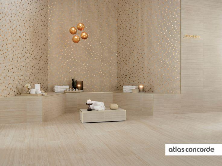 #SUNROCK travertino almond   #AtlasConcorde   #Tiles   #Ceramic   #PorcelainTiles