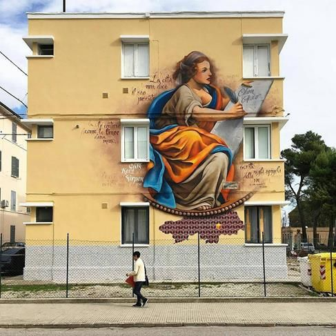 """Fedezen, """"Clio, musa della Storia e della Poesia"""" in Jesi, Italy, 2016"""
