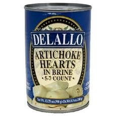 De Lallo Artichoke Hearts In Brine (12x13.75oz)