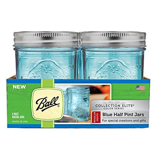 Ball Regular Mouth Elite Collection Half Pint Jars (4 Pac... http://www.amazon.com/dp/B01AAHHB9A/ref=cm_sw_r_pi_dp_P1vnxb16TBXR7