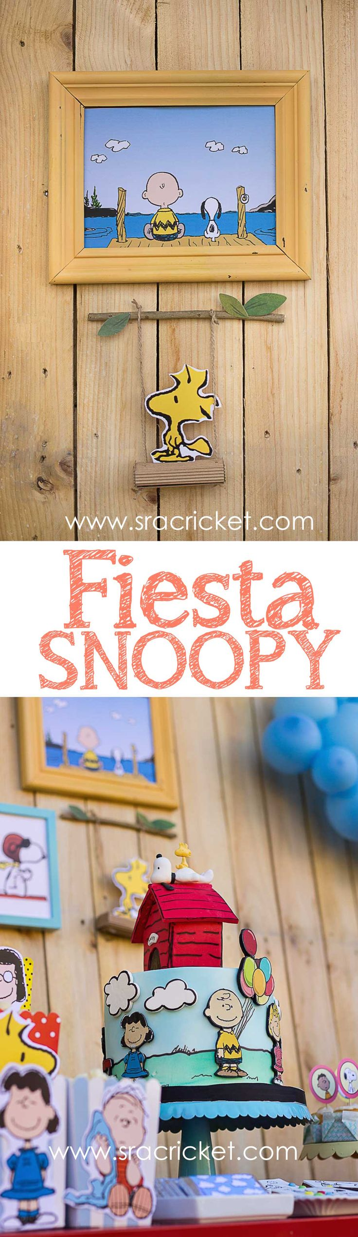 Decoración, ideas e imprimibles gratis para hacer tu fiesta de Snoopy. Snoopy Party, Summer Parties, Balloon Decorations, Event Decor, Fourth Of July, Party Planning, Party Time, Party Favors, Party Supplies
